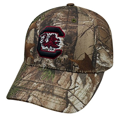 Top of the World NCAA Outdoor Xtra Realtree Camo One-Fit Hat Cap-South Carolina Gamecocks
