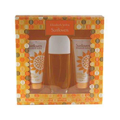 Sunflowers Hydrating Cream Cleanser (SUNFLOWERS - Elizabeth Arden SET(EDT SPR 3.3+B/L 3.3oz+HYDRATING C/CLEANSER))