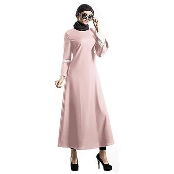 LILICAT✈✈ 2019 Bata de Verano Elegante Vestido Largo túnica Vestido de Cadera con Mangas