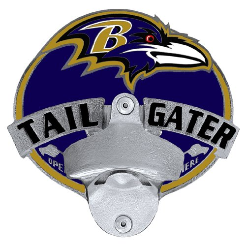 Siskiyou NFL Baltimore Ravens Tailgater Hitch Cover, Class III ()