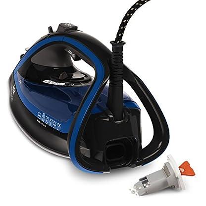 Tefal FV5648 Aquaspeed Turbo Pro Anti-Calc Dampfbügeleisen , 220 g/min Dampfstoß, 2600 W, dunkelgrau/velvet-blau 6