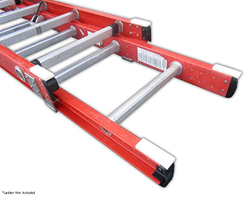 Ladder Bumpers - 2 Pairs - Extension Ladder Cushion - Help Prevent Damage to Surfaces From Extension Ladders - Adds Extra Grip to Ladder - Universal Fit for All Extension Ladders