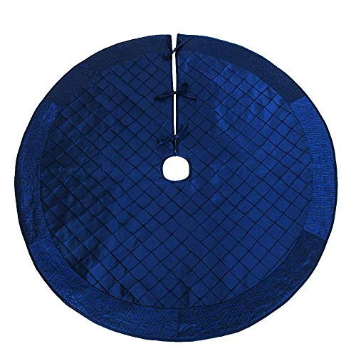"(Powereva 50""Christmas Tree Skirt Blue