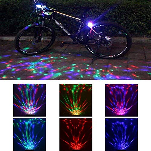 Rechargeable Disco Party Lights for Bike/Car- Childrens Bicycle Accessories/Burning Man Light for Kids