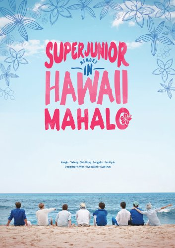 Price comparison product image [Photobook] Super Junior - SUPER JUNIOR MEMORY IN HAWAII [MAHALO] [200p+DVD+Mouse Pad+Poster]