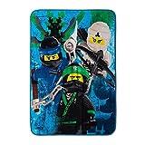 LEGO Ninjago Bedding Plush Throw Blanket - 46 in. x 60 in.