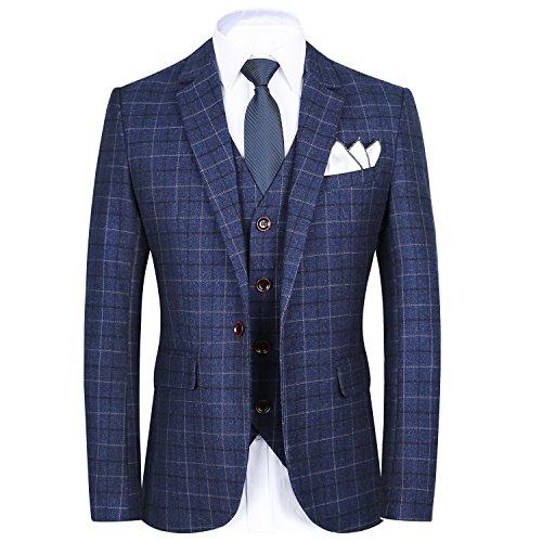 Tuxedo for Men, Blazer for Men, Jacket Men Slim Fit Versace Shirt - Mens One Button Jacket Suits