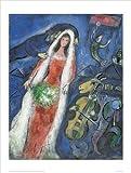 Chagall La Mariee (The Bride) 60 x 80 cm art print