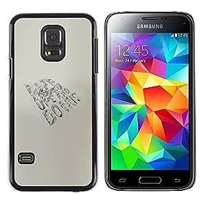 Samsung Galaxy S5 Mini (NOT for S5) / Galaxy S5 Mini Duos , Radio-Star - Cáscara Funda Case Caso De Plástico (Life - Ups And Downs)
