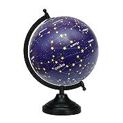 13 Decorative Desktop Rotating Globe Constellation Stars Globes Table Decor