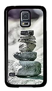 HTC One M8 Zen Rocks Equilibrium814 PC Custom HTC One M8 Case Cover Black by icecream design