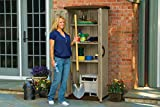 Suncast Vertical Utility Shed - Outdoor Storage