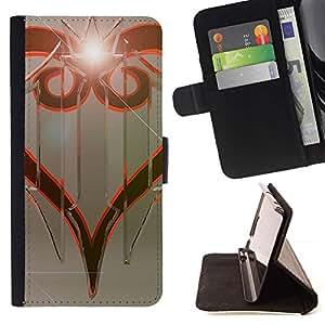 Momo Phone Case / Flip Funda de Cuero Case Cover - Diseño tribal;;;;;;;; - Motorola Moto E ( 1st Generation )
