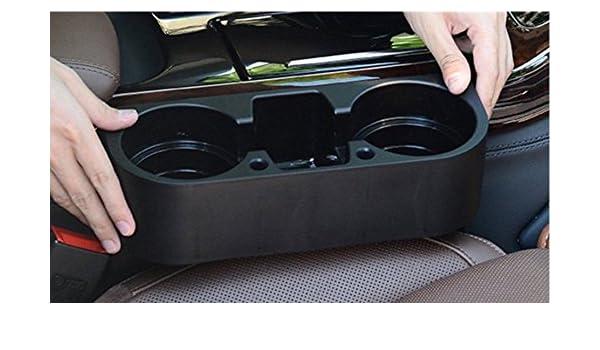 Amazon.es: Gelan AR-50S 550530 – Soporte posavasos para el coche, para vasos y botellas, color negro
