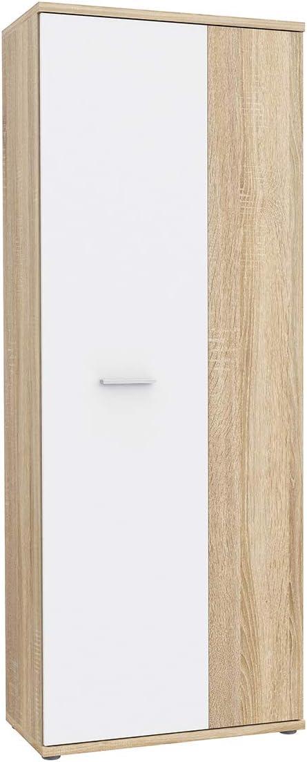 Class - Mueble zapatero de 2 puertas con aspecto de roble claro: Amazon.es: Hogar