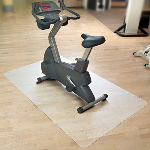 casa pura Vloermatonderlegmat voor hometrainer ergometer crosstrainer en andere fitnessapparaten 7 maten