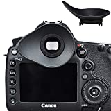 JJC Eyecup Eye Cup Eyepiece Viewfinder for Canon EOS 1DX Mark II / 1DX / 1Ds Mark III / 1D Mark IV III / 5D Mark IV / 5D Mark III / 5DM4 / 5DM3 / 5DS / 5DSR / 7D Mark II / 7D Replaces Canon Eyecup Eg