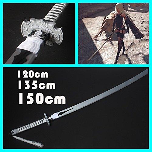 高い素材 コスプレ B077TSBT1W ニーア オートマタ NieR:Automata 135cm 道具 武器 小型剣 ヨルハA型二号 cosplay (135cm) 135cm B077TSBT1W, annadonna アンナドンナ:17f4e0a4 --- a0267596.xsph.ru