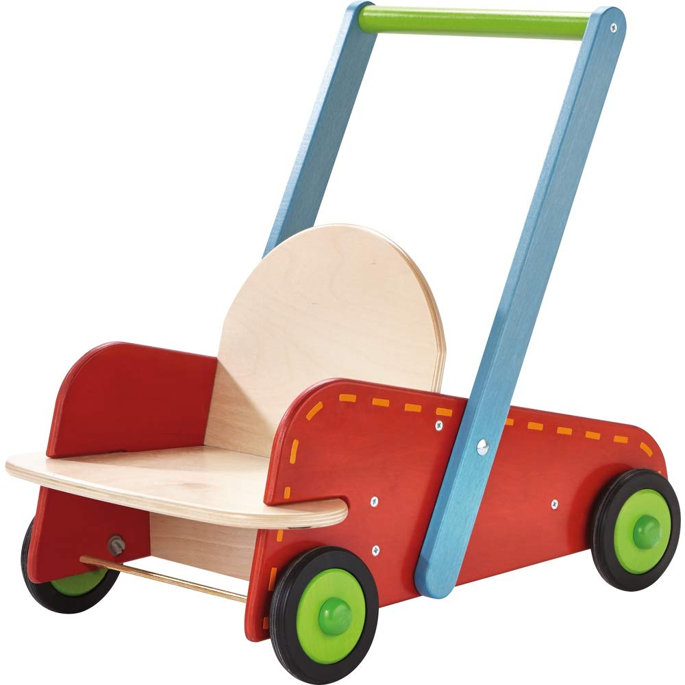 HABA 303068 Walker Wagon Rumbly Toy