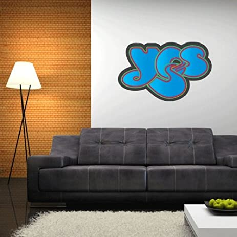Yes rock band wall graphic decal sticker 25