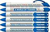 Best Pen With Rotating - Thank You Teacher Rotating Message 6 Pen Set Review