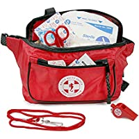 Kiefer First Responder Kit, Red Fanny Pack