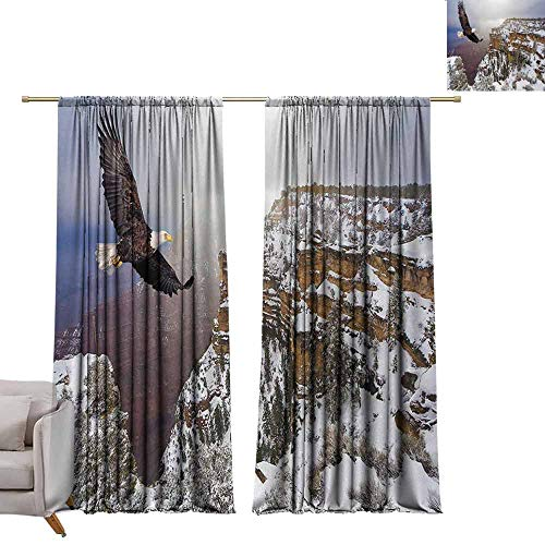 Pocket Thermal Insulated Tie Up Curtains Africa,Aerial