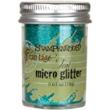 Stampendous Frantage Micro Glitter for Arts and Crafts, Teal