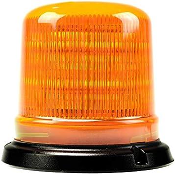 Magnetic ECE R65 Mount Fork Lift Low Profile Flashing Amber LED Strobe Beacon