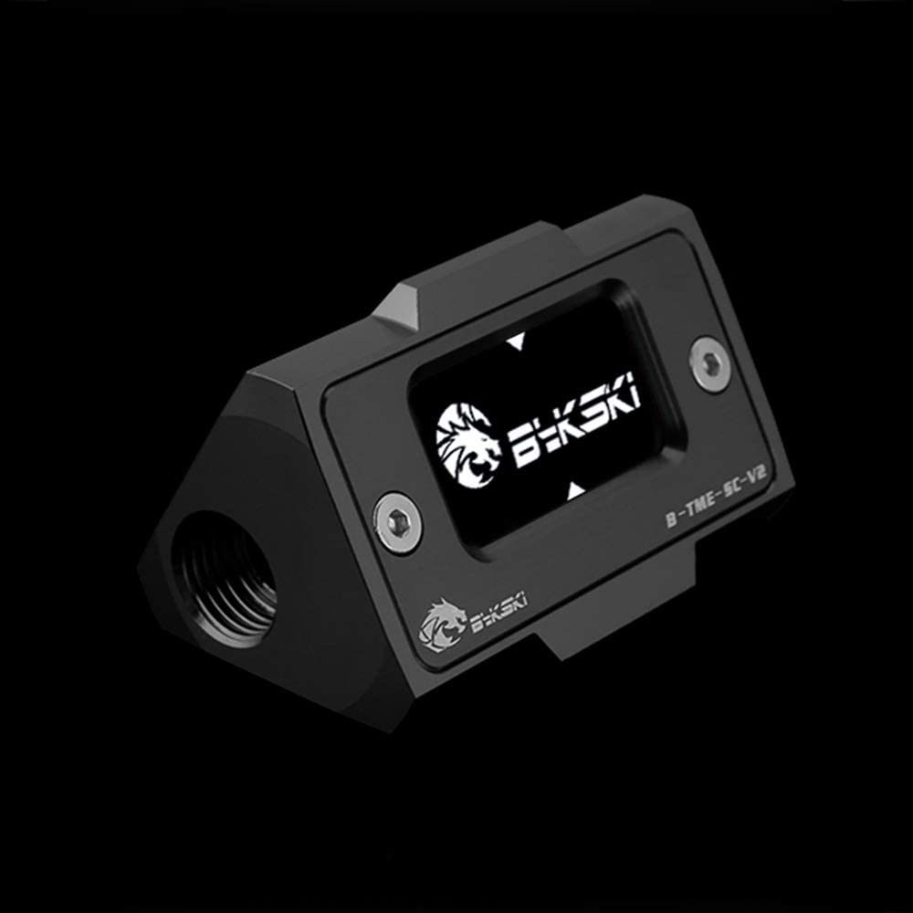 Bykski Water Cooling Digital Display Thermometer (Black)
