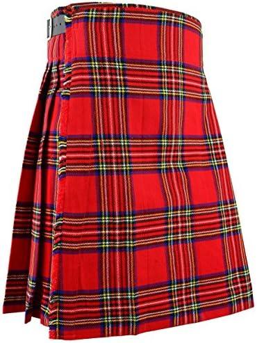 Écossais Kilt Hommes Montagnes Robe Traditionnel Royal Stewart Bekleidung