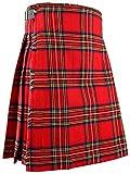 Scottish Traditional Mens Kilt Royal Stewart Tartan (W38)