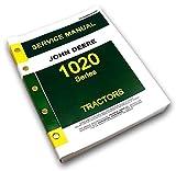 John Deere 1020 Tractor Service Repair Shop Manual Technical Workshop Gas Diesel