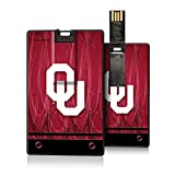Oklahoma Sooners 8GB Credit Card Style USB Flash Drive NCAA