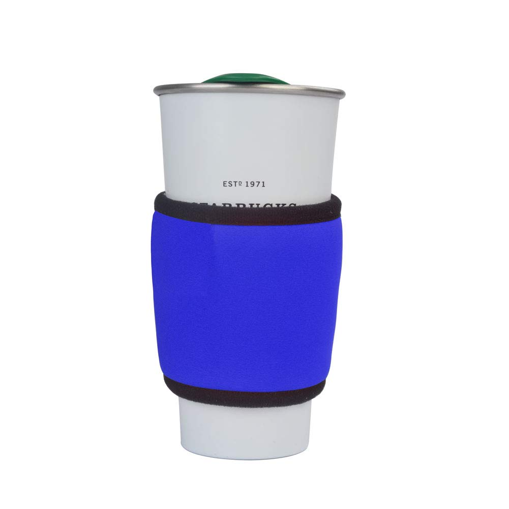 Dr. Prepare Car Electric Warmer Cup Sleeve Travel Beverage Warmer, Portable Baby Bottle Warmer for Milk, Coffee, Tea, Water, and More, Blue
