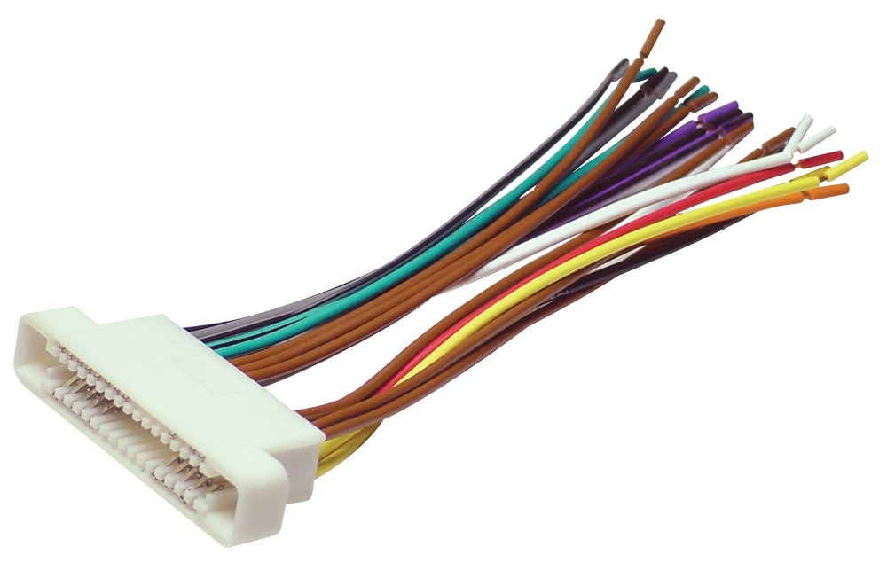 51pr%2BJCFnNL._SL1000_ amazon com scosche gm07b 2000 07 gm ribbon style harness car scosche radio wiring harness at edmiracle.co