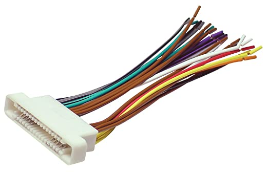 amazon com scosche radio wiring harness for 2000 up gm ribbon scosche radio wiring harness for 2000 up gm ribbon style harness