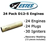 Estes D12-5 Model Rocket Engines (24 pack)