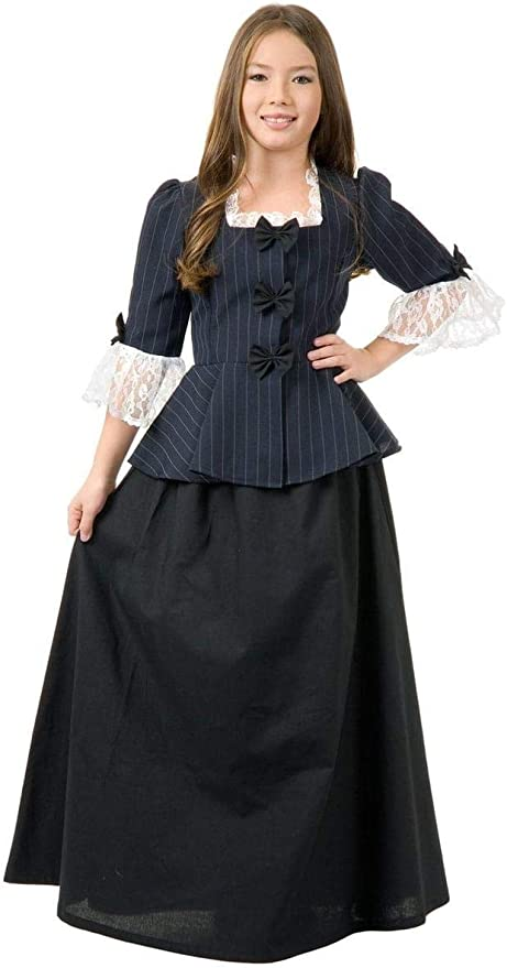 Anthony Harriet Tubman 1800/'s Colonial Historical Child Costume Susan B