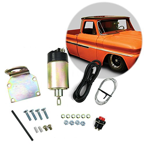 AutoLoc Power Accessories 9660 Shaved Door Solenoid Pop Handle/Latch Popper Kit, (35 (Shaved Door Solenoids)