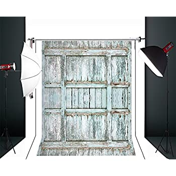 On Sale Lb 7x5ft Vinyl Rustic Barn Door Backdrops For Photography