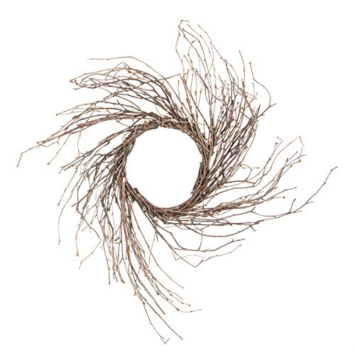 Darice 2814-76 Twig Sunburst Natural Birch, 14 inches Wreath