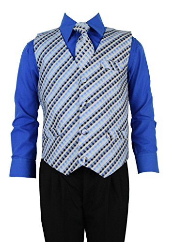 4t royal blue dress shirt - 8