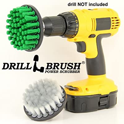 Electric Scrub Nylon Brush Drill Attachment Cleaning Bit Kit