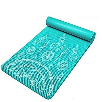 Baibian 10 Mm Nbr Antideslizantes esteras de Yoga para la ...