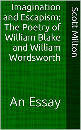 Amazoncom Imagination And Escapism The Poetry Of William Blake  Imagination And Escapism The Poetry Of William Blake And William  Wordsworth An Essay By