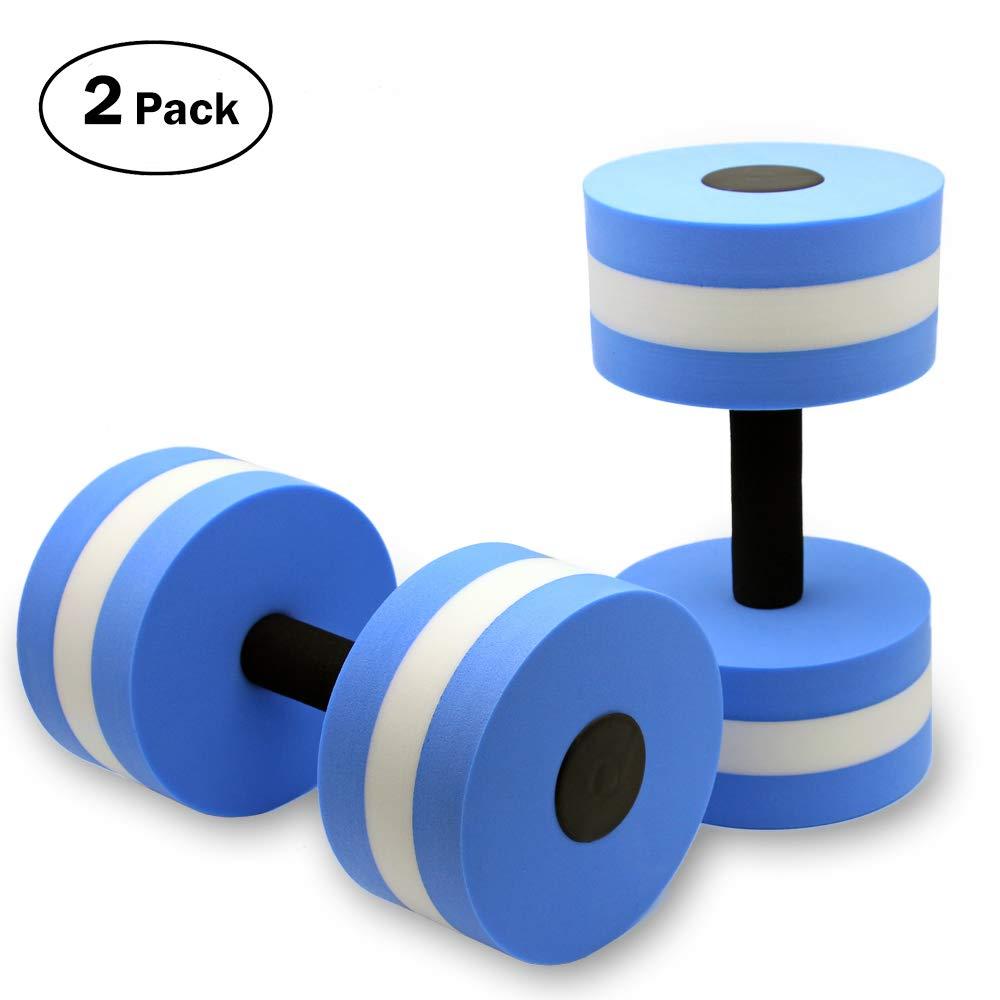 f860d967815 KLOLKUTTA Aquatic Dumbells, 2PCS Water Aerobic Exercise Foam ...