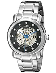 Stuhrling Original Men's 644.02 Legacy Analog Display Automatic Self Wind Silver Watch