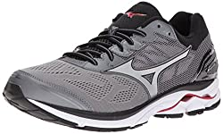 Mizuno Men's Wave Rider 21 Running-shoes, Quiet Shadesilver, 11 2e Us