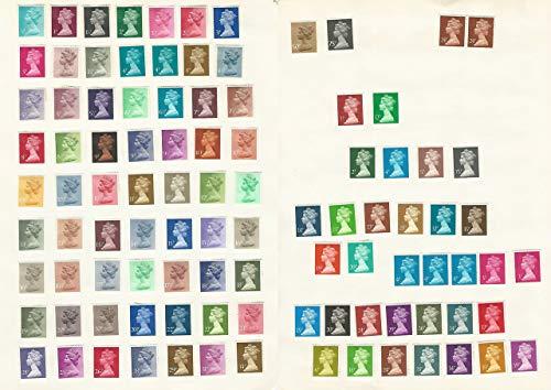 Great Britain, Postage Stamp, MH22//MH161 VF Mint LH Machin Heads, JFZ